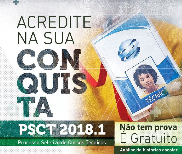 2ª chamada PSCT 2018.1