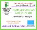 Curso Tecnologias Digitais para 8º e 9º ano