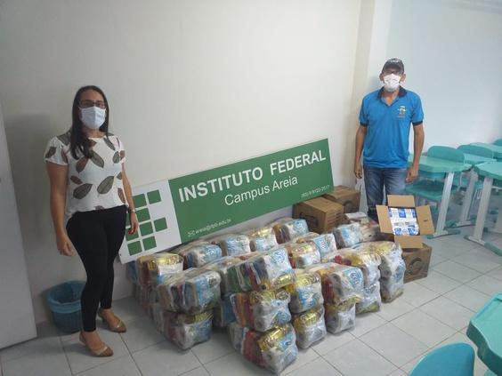 IFPB Solidário faz 2ª doação de cestas básicas na Borborema