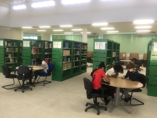 Campus Cabedelo - Biblioteca - Interior