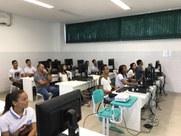 Estudantes da Escola Estadual Izaura Falcão participaram de oficinas de Inclusão Digital e Educomunicação