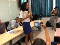 Stephany Raquel foi a primeira colocada no Estado e irá participar da etapa nacional da Olimpíada em São Carlos-SP