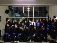 Solenidade aconteceu no hall do Bloco Administrativo, em uma noite de alegria e de reconhecimento aos novos Designers