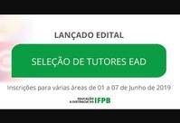 Inscrições para várias áreas ocorrerão no período de 01/06 a 07/06, inclusive para a Especialização em Línguas Estrangeiras Modernas do Campus Cabedelo