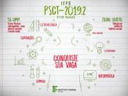 Divulgado edital de confirmação de matrícula e relação de indeferidos da 1ª chamada do PSCT Subsequente 2019.2 no Campus Cabedelo.