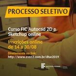 FIC Autocad 2D e Sketchup Online