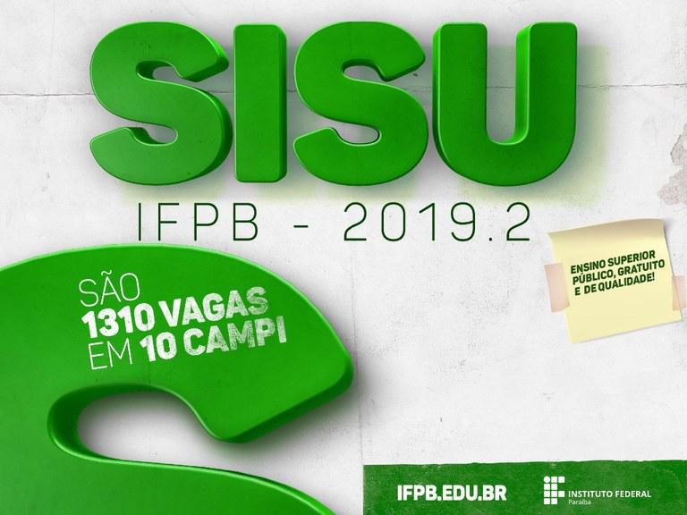 Divulgado edital de confirmação de matrícula da 3ª chamada de lista de espera do Sisu 2019.2 no Campus Cabedelo.
