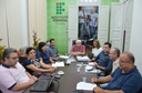 Reunião do Comitê de combate à disseminação do COVID-19