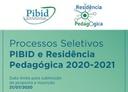 Bibid e RP 2020-2021