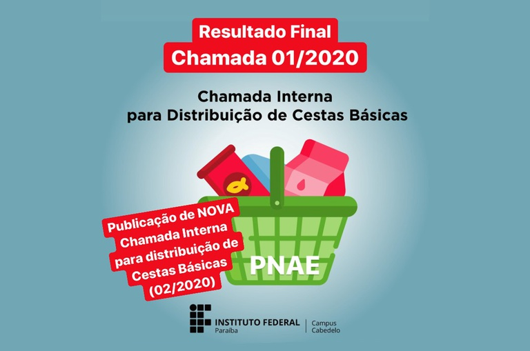 PNAE - Resultado Final e Nova Chamada