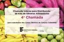 Chamada Interna PNAE - Kits de Gêneros Alimentícios