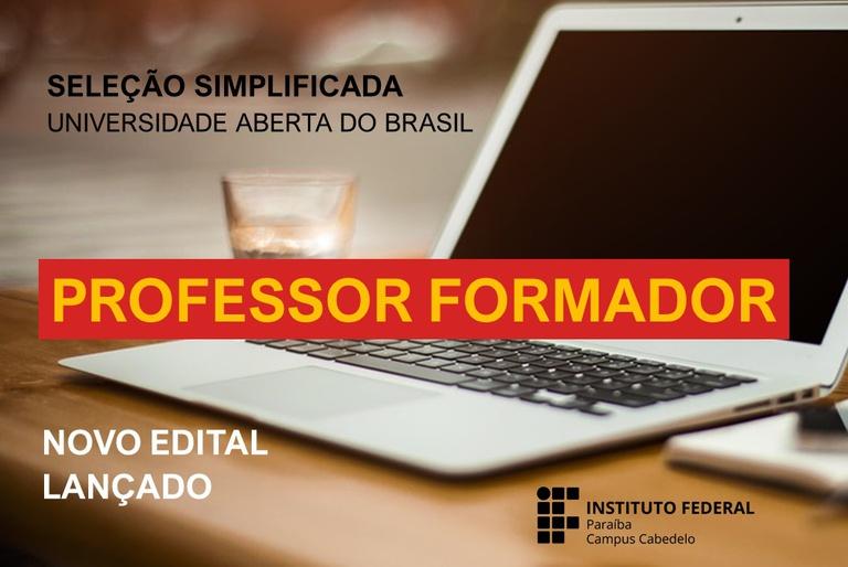 Novo Edital Professor Formador DocentEPT