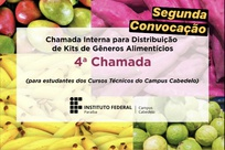 Kits de de gêneros alimentícios in natura serão entregues nos dias 19 e 20 de janeiro, seguindo o cronograma