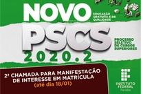 Candidatos terão até o dia 18/01 para fazer a manifestação de interesse online no Portal do Estudante.