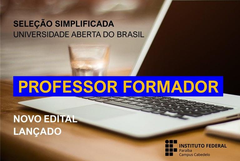 Edital Professor Formador 03