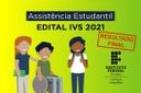 Edital IVS 2021 - Resultado Final Site