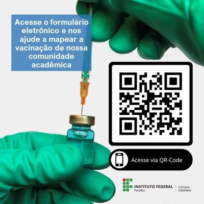 Vacinação IFPB Cabedelo QR-Code