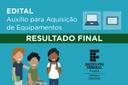 Resultado Final - Edital 51/2021 - Equipamentos