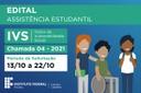 Edital IVS - Chamada 04