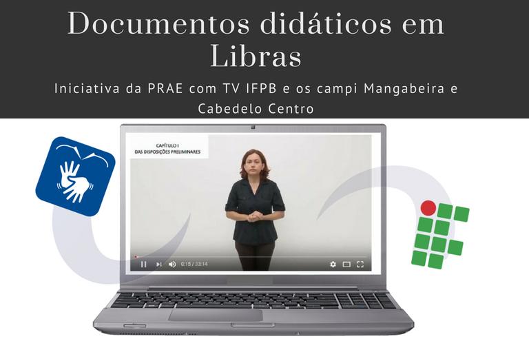 Documentos didáticos em LIBRAS