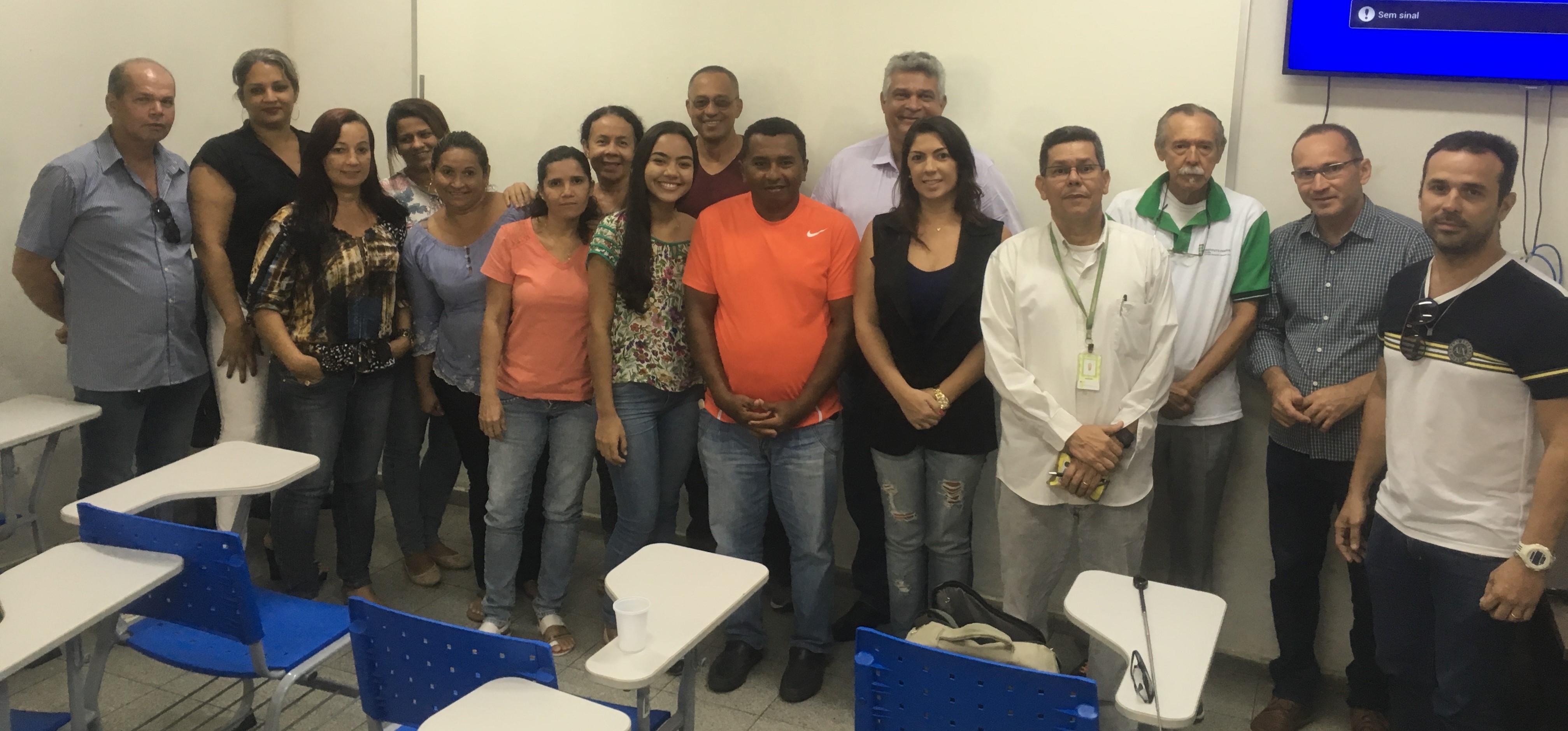 a8d537eea4 Homero Carvalho e Marconi Santos com as turmas de TTI do Campus Cabedelo  Centro.