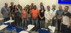 Homero Carvalho e Marconi Santos com as turmas de TTI do Campus Cabedelo Centro.
