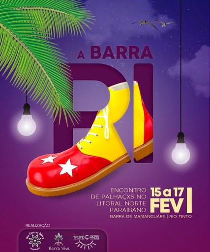 O evento ocorrerá nos dias 15 a 17 de fevereiro em Barra de Mamanguape