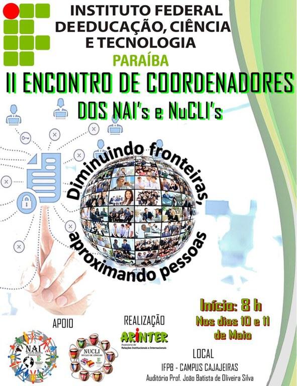 II Encontro de NAI e NuCLI do IFPB
