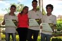 Vicente, Maria José, Lucas e Willisses,