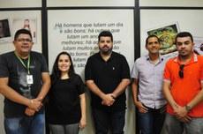 Emerson, Caroline Cevada, João Vitor, George Cruz e Assuero Rolim.
