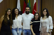 Andreia, Clara, Antônio, Socorro e Renalle