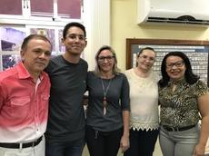 Edmundo Vieira de Lacerda, Raphael Falcão,  Raimunda de Souza Ferreira, Maria Helena e Lucrécia Petrucci