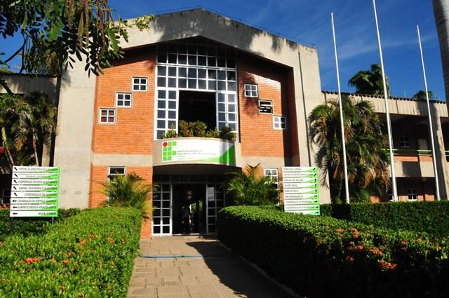 Facahada do Campus Cajazeiras