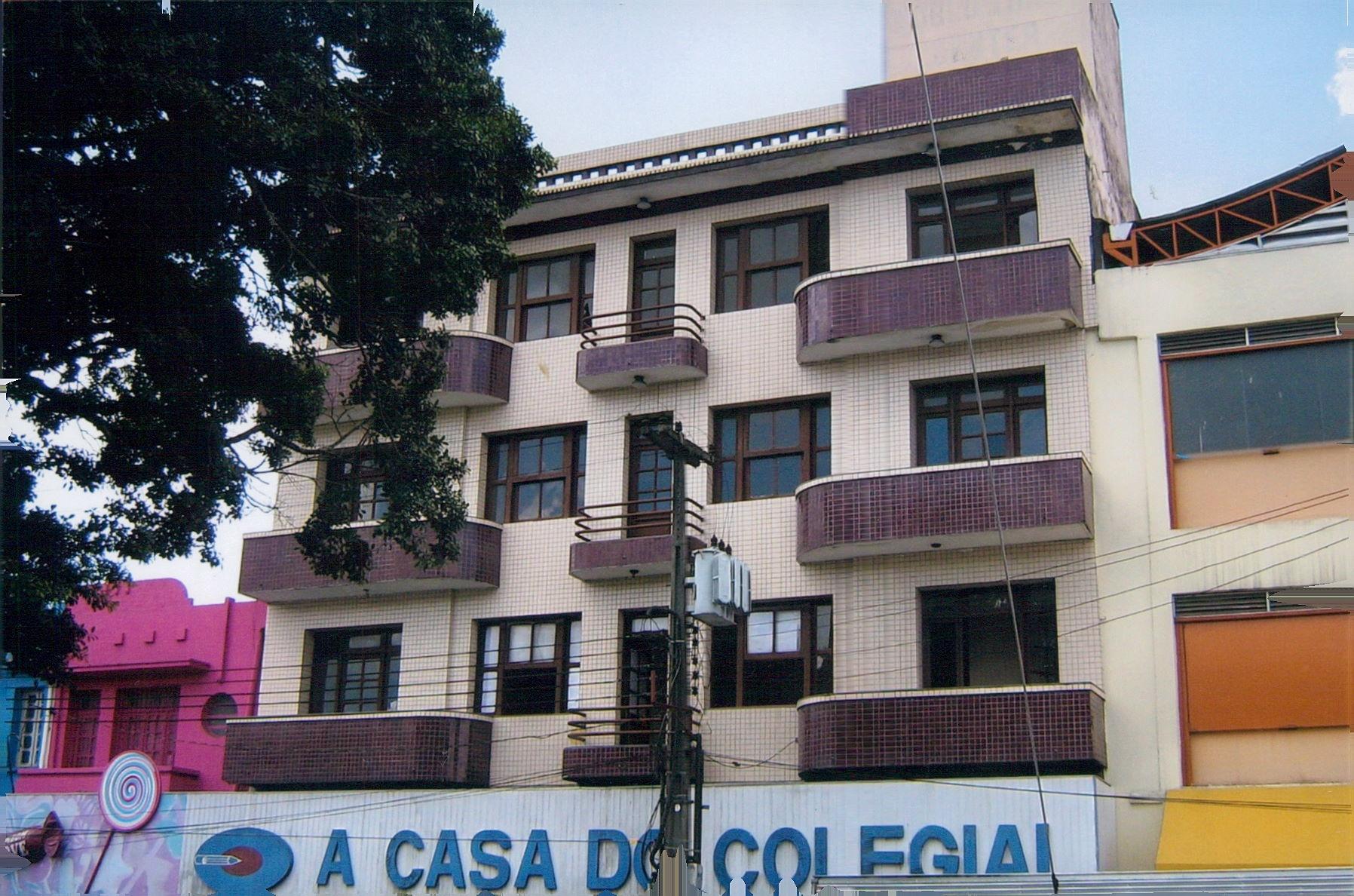 Fachada do primeiro endereço físico do IFPB campus Campina
