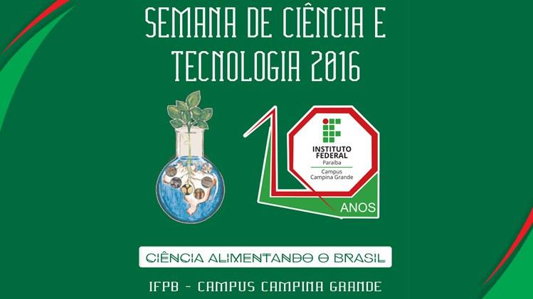 SEMANA DE CIÊNCIA 2016