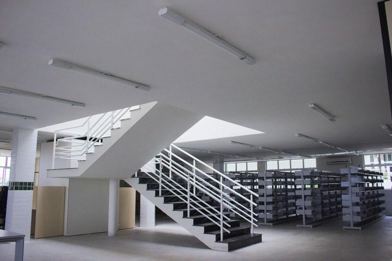 Interior da Biblioteca