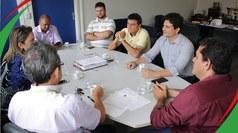 Reunião com setores responsáveis pelo transporte e mobilidade do município foi a convite da gestão