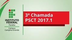 Vagas são distribuídas entre seis cursos técnicos. Aulas do ano letivo 2017 estão previstas para iniciarem dia 15 de maio