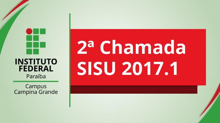 2ª Chamada SISU 2017.1.jpg