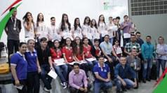 Estudantes e gestores das escolas receberam medalhas e troféus. A competição é promovida pelo Departamento de Física do campus Campina