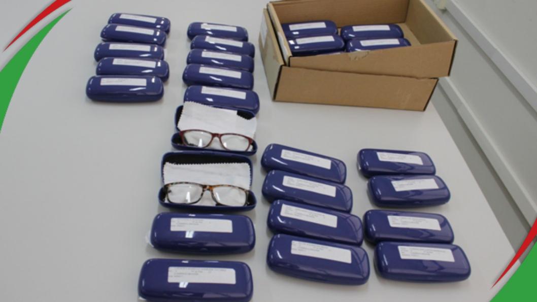 Programa de aquisição de óculos de grau do campus Campina