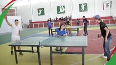 Tênis de mesa abre os jogos do campus Campina