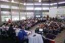 Público lotou o auditório do campus Campina