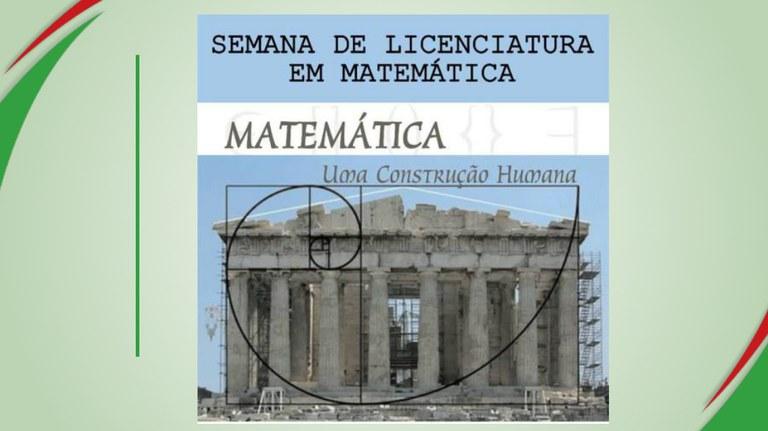 Semana de matemática do campus Campina