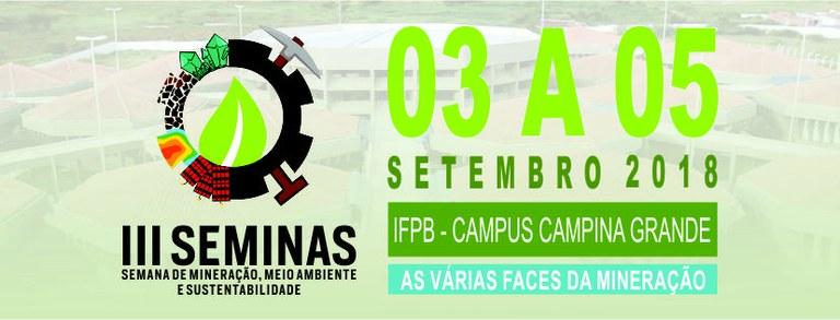 IFPB CAMPINA SEDIA SEMINAS