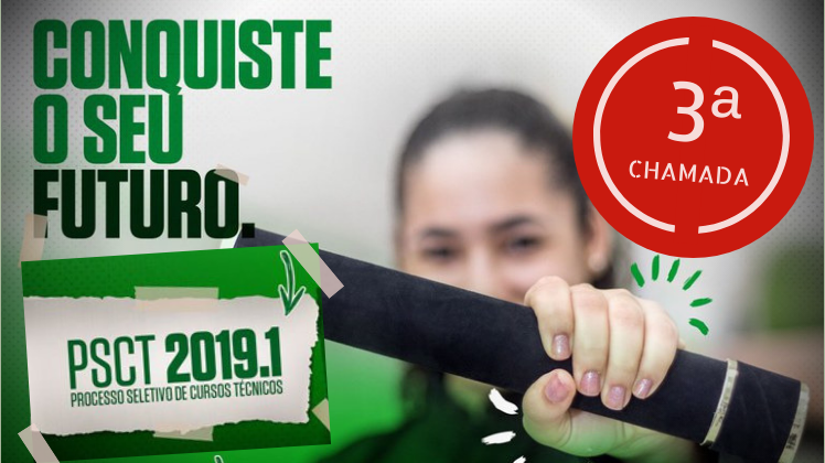 PSCT 2019.1 TERCEIRA CHAMADA