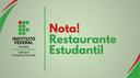 Nota Restaurante estudantil 2019