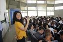 Estudante Catarina Ramalho voluntária do Setembro Amarelo