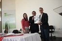 Entrega do termo de posse ao Secretário Municipal de Educação, Rodolfo Bezerra, representante do Governo Municipal no conselho