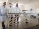 Produto foi fabricado nos laboratórios do IFPB Campus Campina Grande